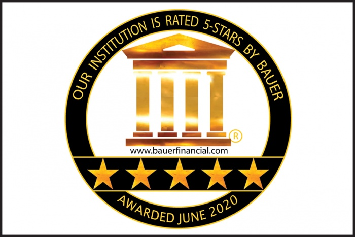Our Institution is rated 5-stars by Bauer awarded June 2020